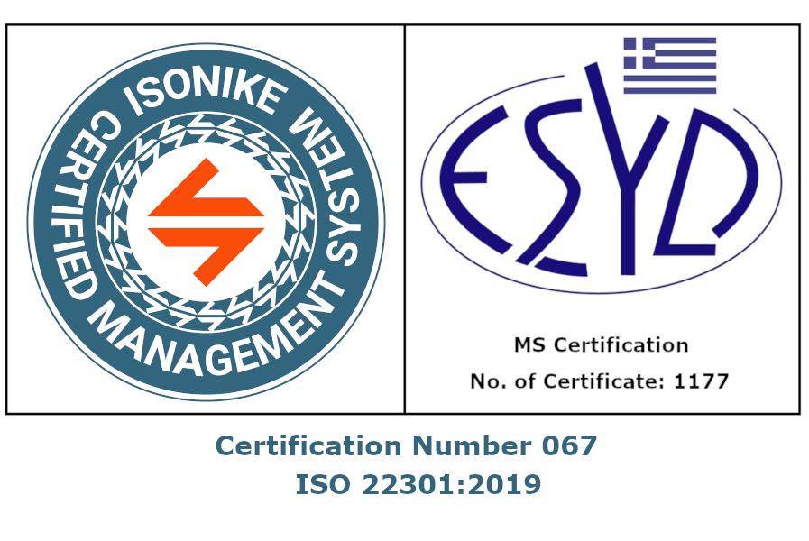 ISONIKE 22301