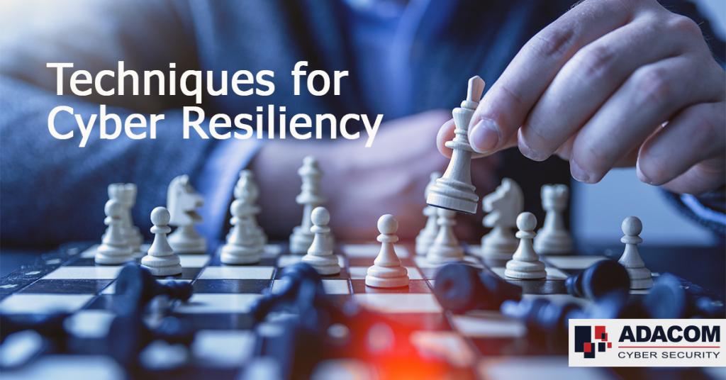 Techniques for Cyber Resiliency